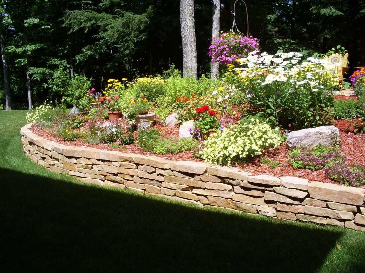 Flower beds plants shrubs the compound landscaping for Best plants for flower beds